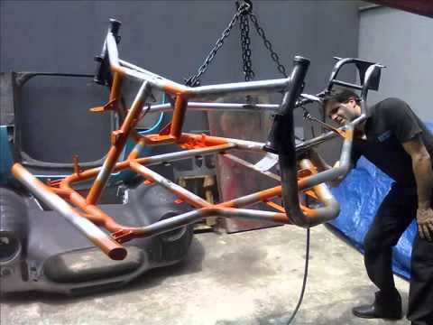 Độ chế xe máy thành xe hơi 3 - 4 Bánh