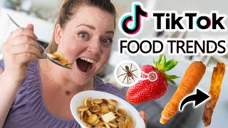Testing TikTok Food Hacks To See If They&#39re real!