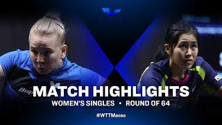 Yana Noskova vs Sawettabut Suthasini | WTT Star Contender Doha 2021 | WS | R64 Highlights