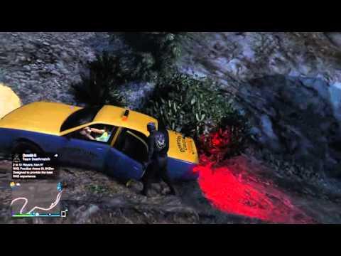 Gta 5 Online _ Taxi Ride again