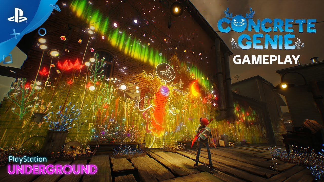Concrete Genie - Gameplay Walkthrough | PlayStation Underground