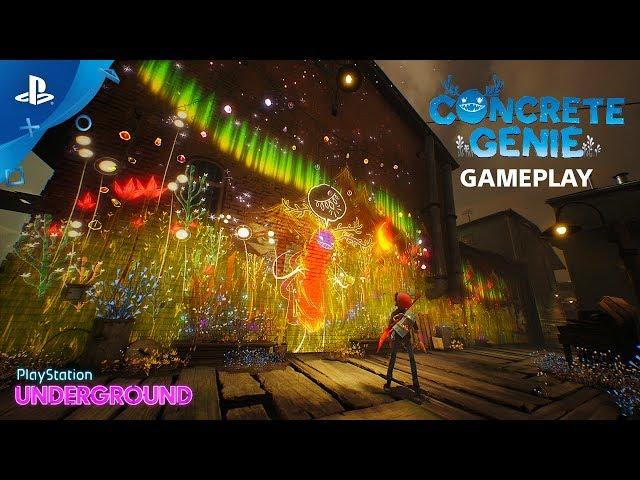 Concrete Genie - Gameplay Walkthrough | PlayStation Underground