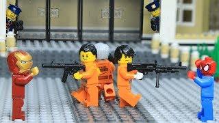 Lego Superhero School for New Heroes