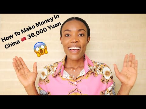 How To Make Money Online | Student In China | Patricia Ibe