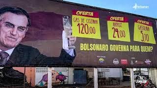 NA CIDADE DE SINOP, EM MATO GROSSO HOUVE UMA MANIFESTAÇÃO DIFERENTE, CONTRA O PRESIDENTE BOLSONARO