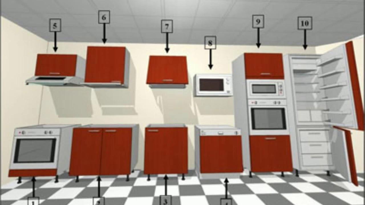 meuble cuisine pour four youtube