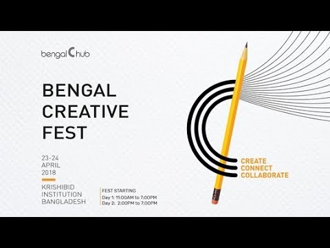 Bengal Creative Fest 2018 Highlights