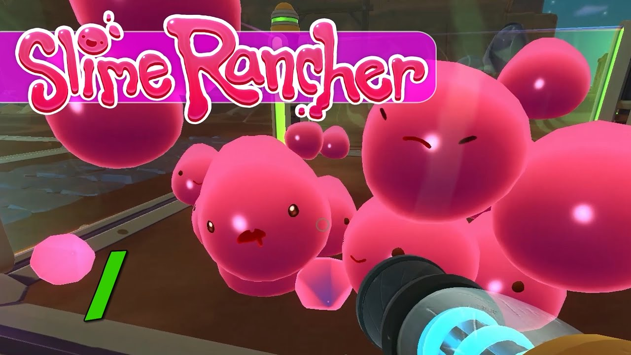 Slime Rancher Lets Play Ep 1 Ranching Basics Youtube