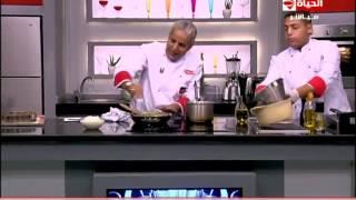 برنامج المطبخ – مقادير وطريقة عمل طاجن اللحمة بالبطاطس والصوص الأبيض – الشيف يسرى خميس – Al-matbkh