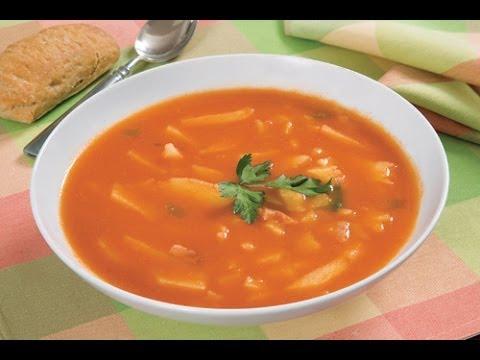Cocinar sopa de papa facil y rapido youtube for Cocinar berenjenas facil