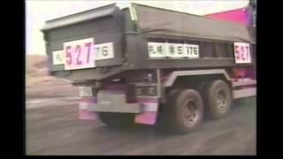 第一回・全日本ダンプカーレース(決勝タイムトライアル) /  '85 Japan dump truck race ( Finals, Time Trial race )