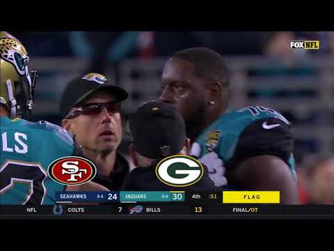 Jaguars vs Seahawks 2017 Ending with Fight (with Reddit reactions)