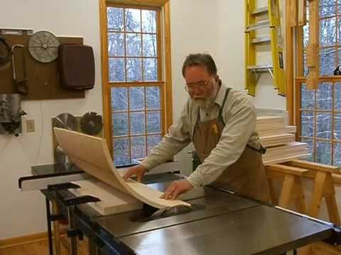 Making a Veneered Executive Desk Part 5, Attaching Curved Laminates; Andrew Pitts~FurnitureMaker