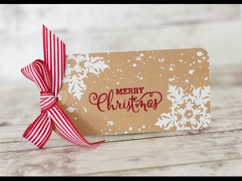 Simple Christmas Tags Diy Christmas Gift Tags