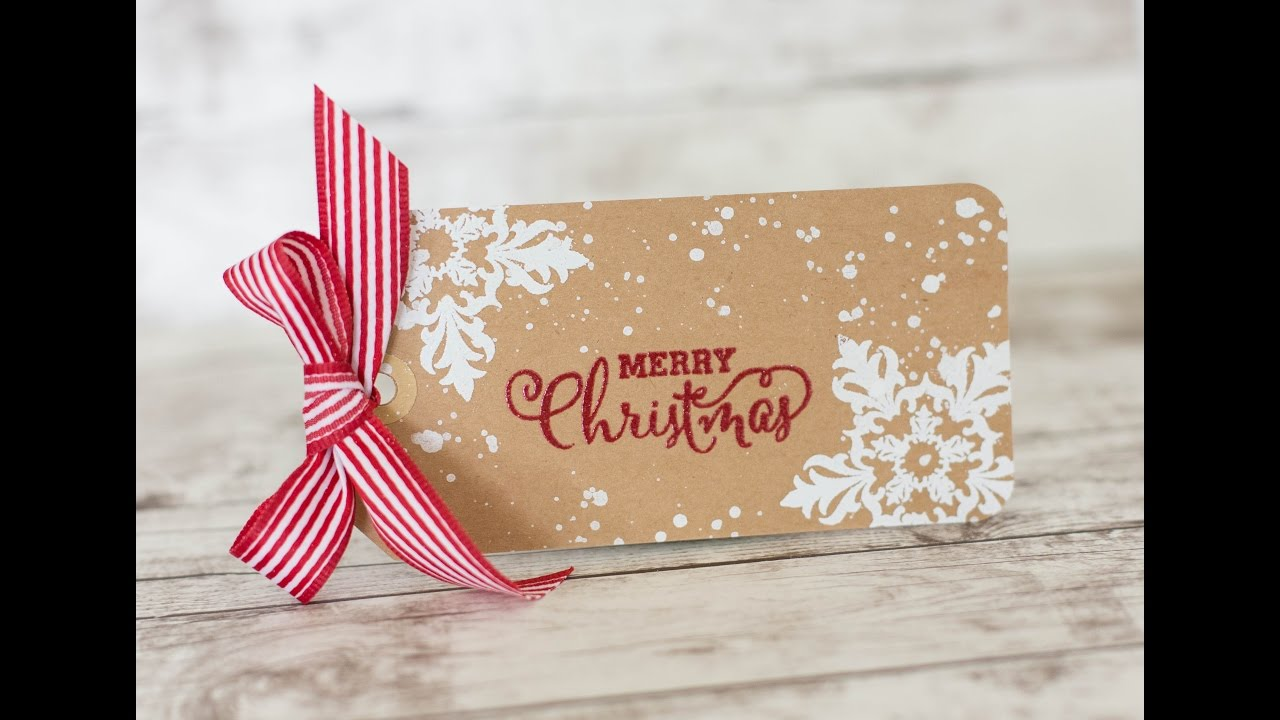 3 Simple Christmas Tags Diy Christmas Gift Tags