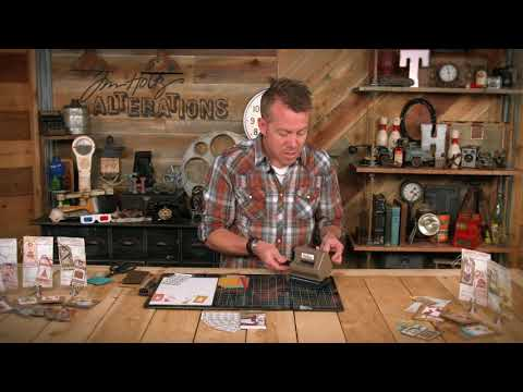 Tim Holtz Side-Order Adhesive Sheets | Sizzix