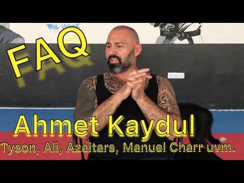 FAQ Mit Ahmet Kaydul Meinung Zu Tyson, Ali, Azaitars, Manuel Charr Fight Mentality PFS Kampfkunst