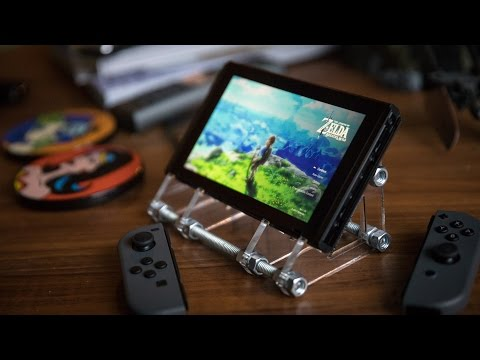 Making a Better Nintendo Switch Stand!