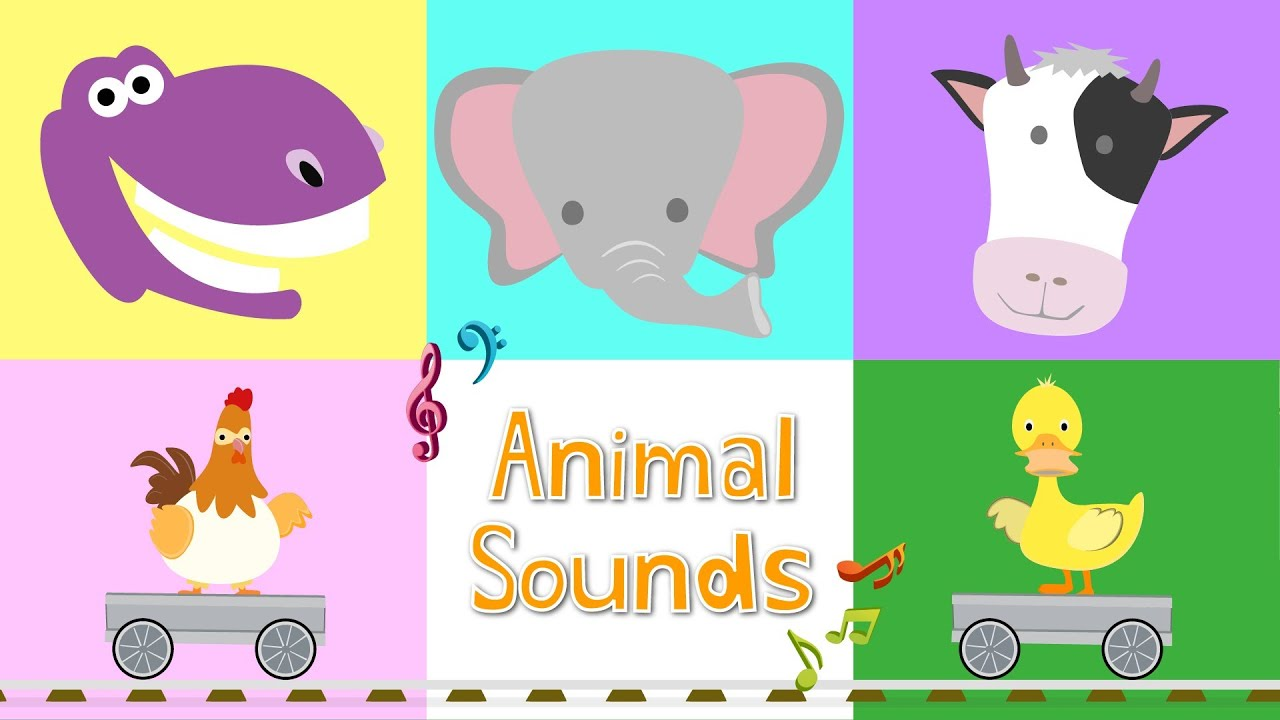 sounds animal animals learn songs library children cliparts