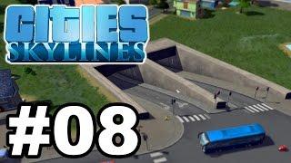 Cities Skylines   Basti zockt #08   Meine andere Stadt + Tunnelbau zur Entlastung