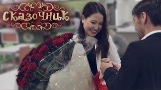 Романтическое предложение на глазах у изумленной публики. Алматы, ТЦ Promenade фудкорт.