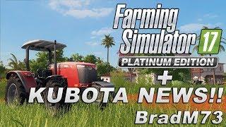 Farming Simulator 17 PLATINUM EDITION News + HUGE KUBOTA DLC News!!!!