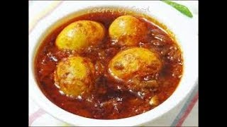 How to make Bengali Anda(Egg) Curry | बंगाली एग बिरयानी | Easy Cook with Food Junction