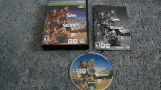 The Sims Castaway Stories - Mac - DVD