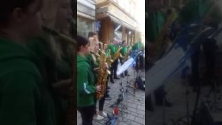 Saxophon Big Band Meiningen, Ein Kompliment