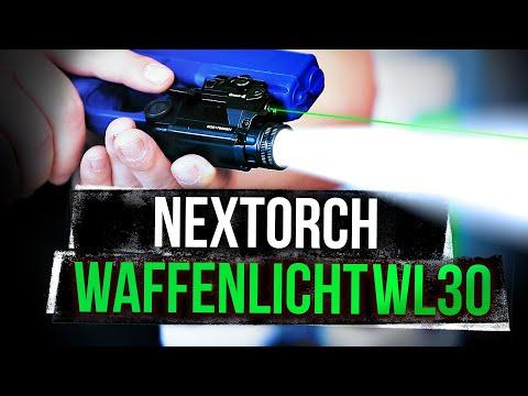 Das Neue Waffenlicht WL-30 Von Nextorch - IWA 2020 Neuheit