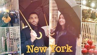 Прогулка по Нью-Йорку: установка ёлки у Рокфеллер-центра, Радио Сити, съёмка шоу Today (22.11.2017)