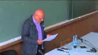 Выступление В.В. Познера в МГУ