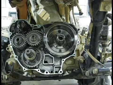 Rincon Big Red Gear Reduction Install Part 1 (Disassembly)