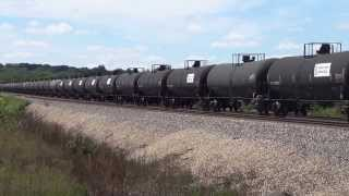 NS M NSIGAL1 02A mixed freight combined with empty oil train