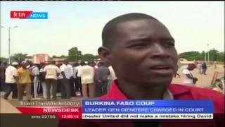 Burkina Faso coup leader Gilbert Diendere charged in court