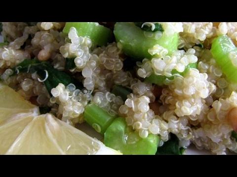 Easy Lemony Quinoa Recipe