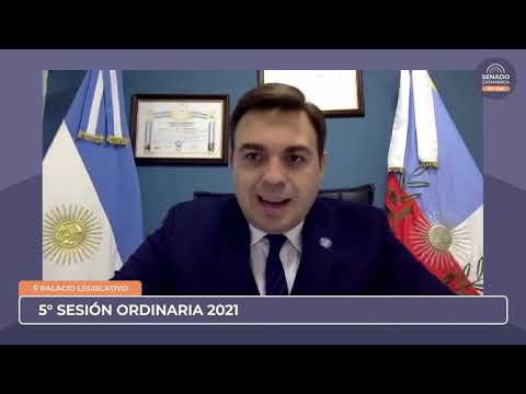 EN VIVO: Quinta Sesión Ordinaria 2021