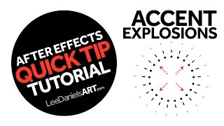 After Effects Tutorial | QUICK TIP | Accent Explosions
