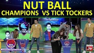 Nut ball    Game Show Aisay Chalay GaLeague  TickTock Vs Champion