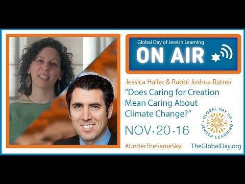 Jessica Haller and Rabbi Joshua Ratner – Global Day of