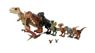 Dinosaurs in Jurrasic World Lego - Tất cả khủng long trong Công viên khủng long Lego