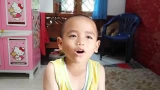 Lucu anak kecil nyanyi Cinta Gila ost Sinetron Anak Jalanan