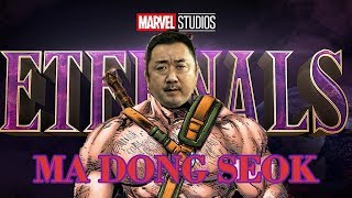 @kmoovy@awesome news! the korean actor ma dong-seok is set to feature in marvel comics' upcoming eternals. he's a really big korea, but if you d...