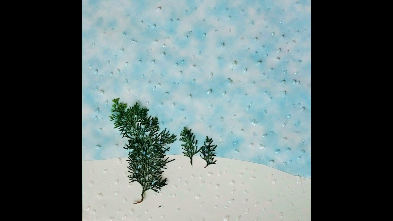 Creative Art Ideas For Kids How To Create Design A Winter Scene