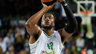 #hatmakers Block of the Night: Marcus Slaughter, Darussafaka Dogus Istanbul