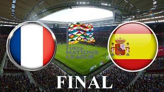 ФРАНЦИЯ ИСПАНИЯ ЛИГА НАЦИЙ 2021 ФИНАЛ 10 10 2021 ФУТБОЛ МАТЧ ПРОГНОЗ FIFA 22