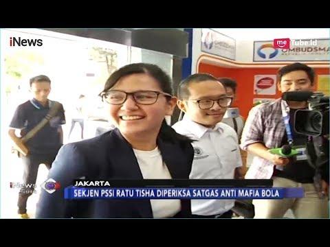 Sekjen PSSI, Ratu Tisha Penuhi Panggilan Satgas Anti Mafia Bola - iNews Sore 28/12