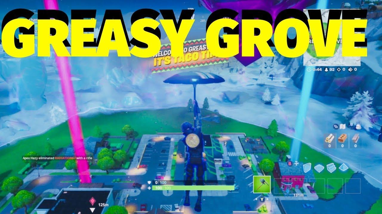 Fortnite New Map Update: Greasy Grove | September 11, 2019 | Fortnite  Battle Royale