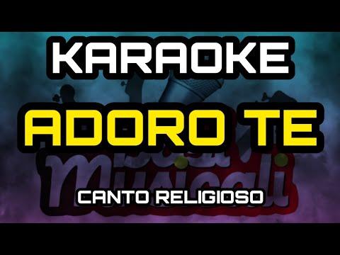 Adoro Te - KARAOKE - Canto Religioso