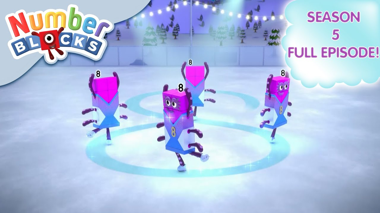 Download @Numberblocks- Snow Day Doubles ☃️  Multiplication   Season 5 Full Episode 21   Learn to Count